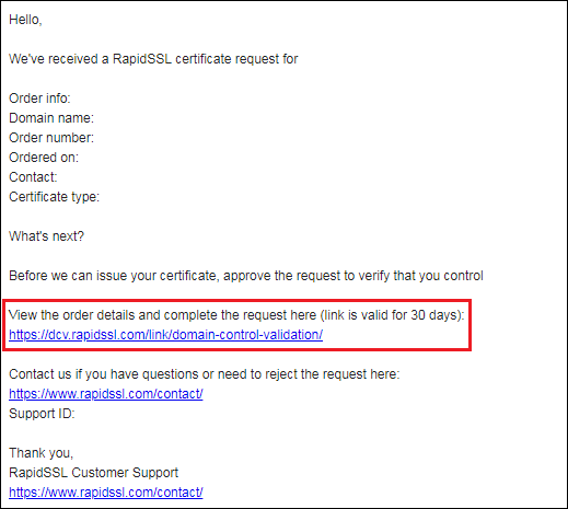 Order Or Renew A SSL Certificate